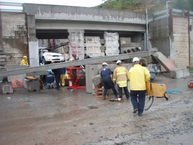 Firefighter Heavy Rescue Training at JTF, 10/7/11