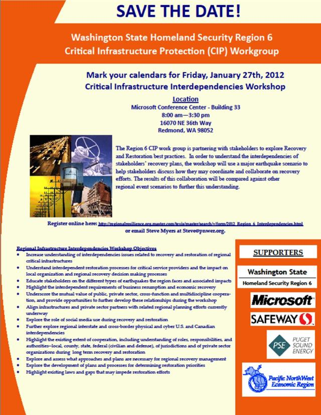 PNWER CIIW event flyer