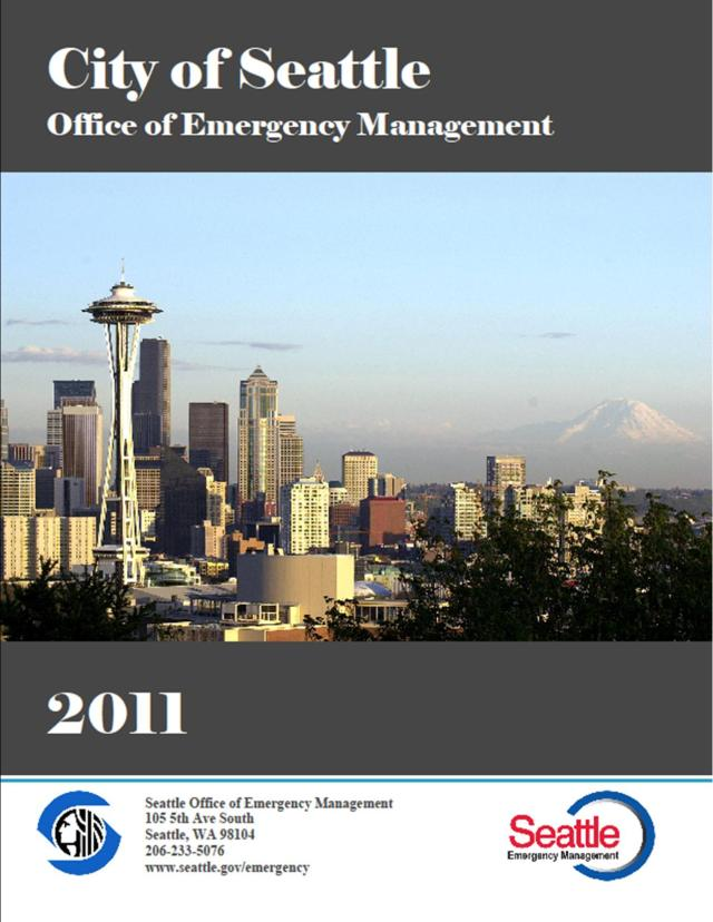 2011 Seattle OEM Annual Report - title page graphic