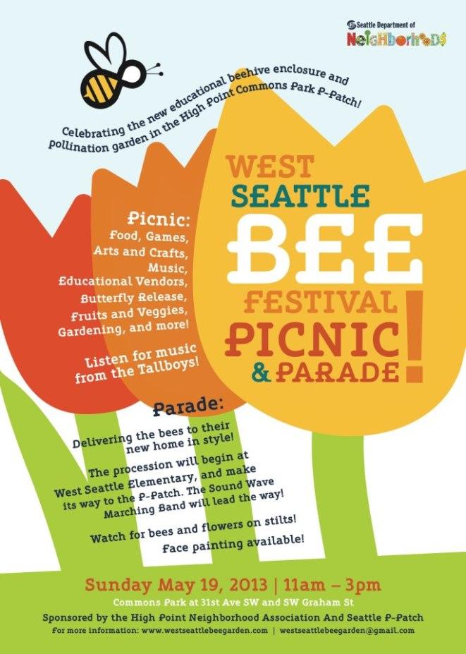 Bee Festival flyer