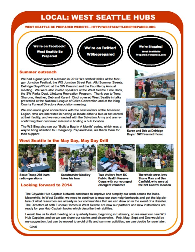 Hub newsletter, page 4 of 4