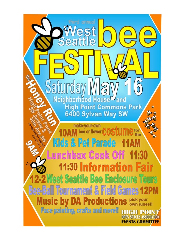 3rd Annual Bee Festival flyer