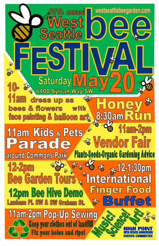 2017 West Seattle Bee Fest flyer