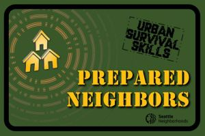 Urban Survival Skills Fair banner